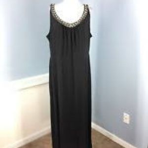 Lane Bryant Plus Women's Black Sleeveless Dress